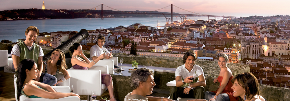 Lisboa, second top city of southern Europe...